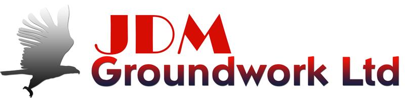 JDM Groundwork Ltd | London Kent & Essex | Drainage | Foundations | Paving | Driveways | Soakaways Logo